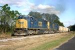 0842 Southbound at Nichols, Fl returning to Rockport (Tampa) Fl