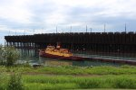 The Edna G and Two Harbors Ore Dock