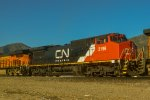 CN 2196 trails heading up Cajon
