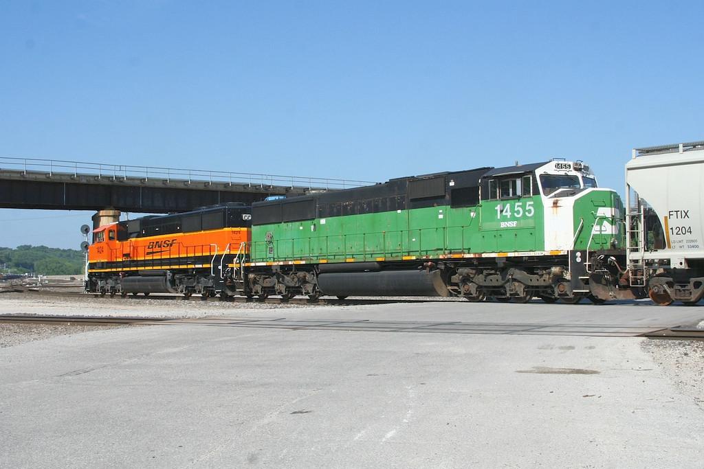 BNSF SD60M