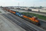 BNSF2321, BNSF2042, BNSF2240, BNSF6794 and others outside the depot