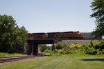 BNSF5821 and BNSF6244 at Peck Park