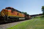 BNSF4860 and BNSF3741 at Peck Park