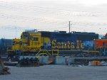 BNSF 3189, still wearing Santa Fe paint!