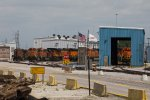 BNSF3895, BNSF5311, BNSF4272, BNSF6359, BNSF1565 and others at the depot