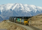 NEW ZEALAND  UNIT  COAL  TRAIN.