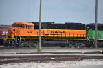 bnsf sd60m at murray yard