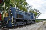 HVSR 4005 has run around the train at East Logan.