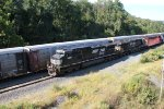 NS 9697 and 3651 arrive in Enola Yard after crossing Rockville bridge