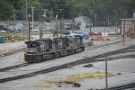NS 4172, 9852, and 4010 in Chattanooga