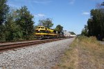 NS 1069, the Virginian heritage unit, leading a train at MP143.5