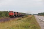 U714 comes south with limestone empties