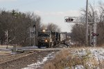 At the south end of Marsh, NS 2640 leads A447 north