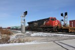 Running midtrain, CN 2848 splits the signals