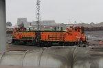 BNSF's GN 3704 & 3429