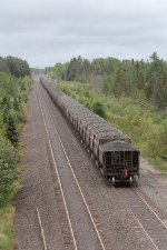 Raw ore heads away toward Keenan