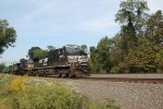 NS 9969 with an Eastbound at MP 116