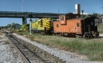 MKT #96 and caboose