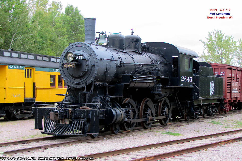 Ten-Wheeler built in 1900 by Brooks Locomotive Works as Wisconsin Central 247