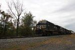 NS 8147 leads train 35A through MP143.5