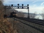 Westbound Stack Train at MP 6.5