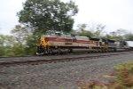 NS 1074 Lackawanna Heritage Unit leads train 21J