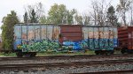 BKTY 155254. Ex GBW boxcar. (other side)