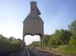Old coaling tower