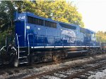 Tennessee Southern Railroad CEFX 6671 & CITX 6352