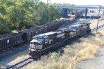 NS 9341 and 9196 make up train H18