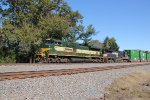 NS 1068, Erie RR heritage unit leads train 23M at MP116