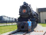 Me in front of PRR 3750