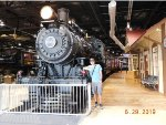 Me in front of PRR 1223