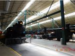 Rolling Stock Hall in the Railroad Museum of Pennsylvania