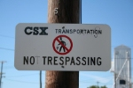 Not Trespassing?