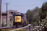 CSX 8627 at Dickerson, MD