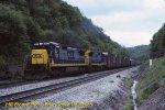 CSX 7627 & 7636 at Sand Patch