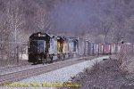 CSX 6039 Westbound near Cumberland, MD