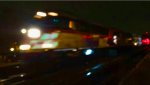Metra 185 blurred