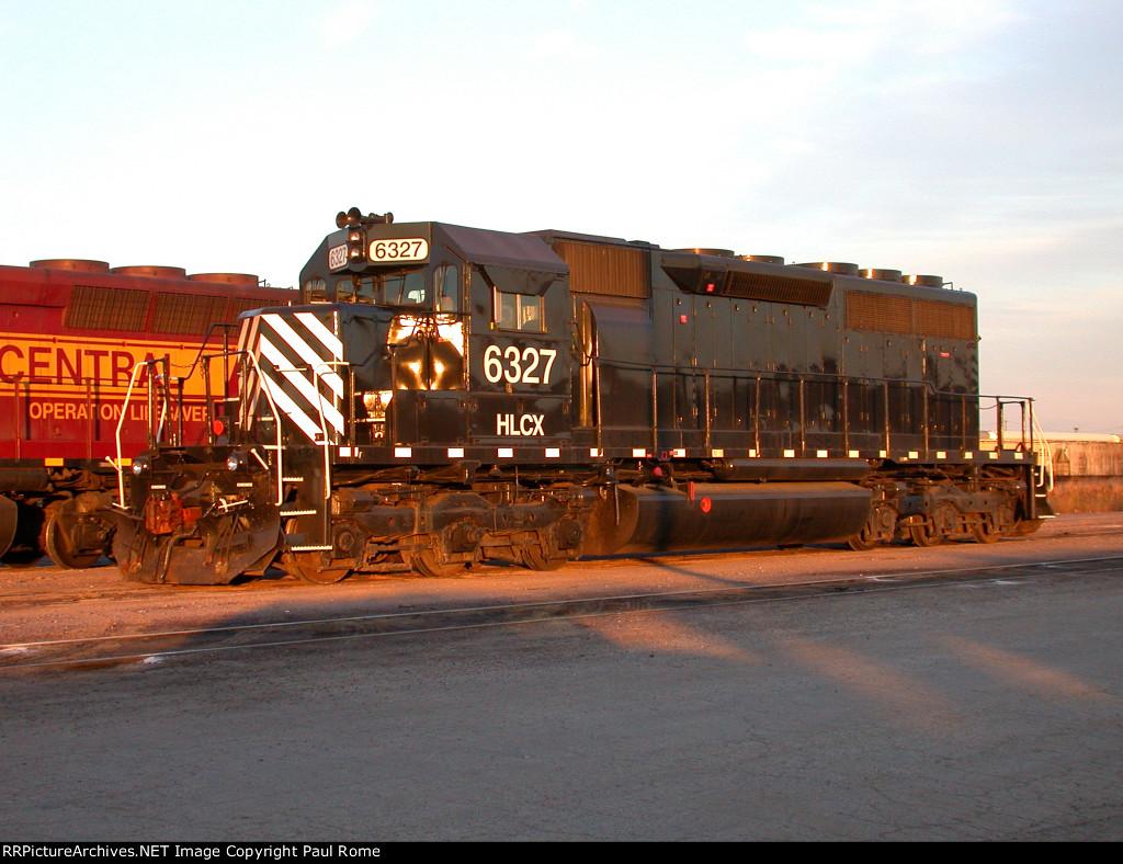 HLCX 6327, EMD SD40-2, at UPRR Proviso Yard