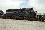 HLCX 6401, EMD SD40-2, at BRC Clearing Yard