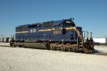 HLCX 9014, EMD SD40, at BRC Clearing Yard