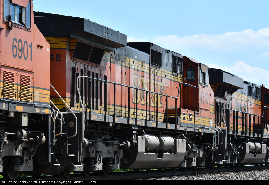 BNSF 4848 Roster.
