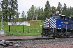 MRL 4300 at the continental divide