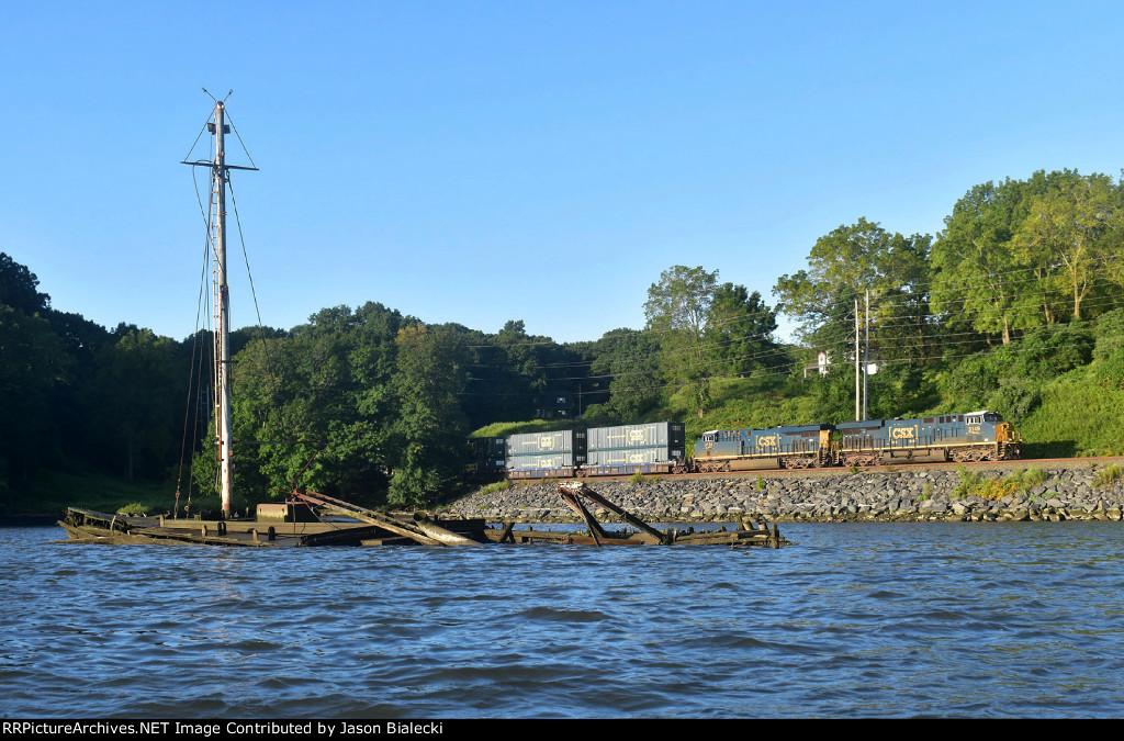 Shipwreck at Stony Point