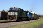 NS 18N With Lease Locomotive @ 0935 hrs.