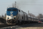 Amtrak 73 on a nice march day.