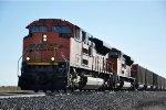 Coal empties head west