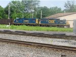 CSX 2505 and 2029