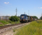 CEFX 3132 and CSX 8721 at Mile Marker 39